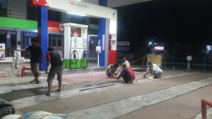 Harga Jasa Epoxy Lantai Area SPBU