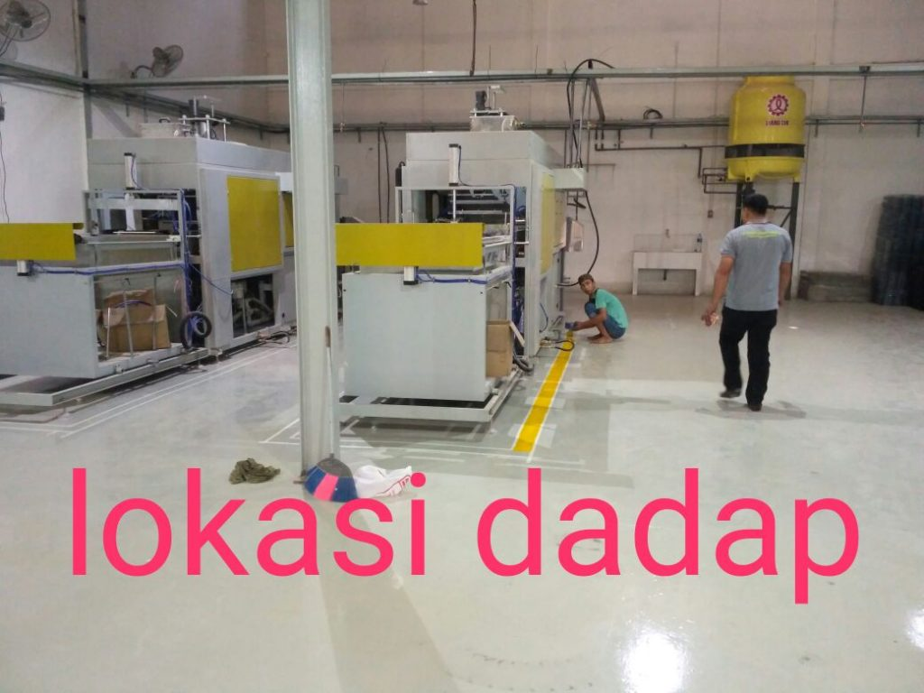 pengecetan epoxy lantai gudang