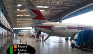 Proses Epoxy Lantai PT GMF Aeroasia