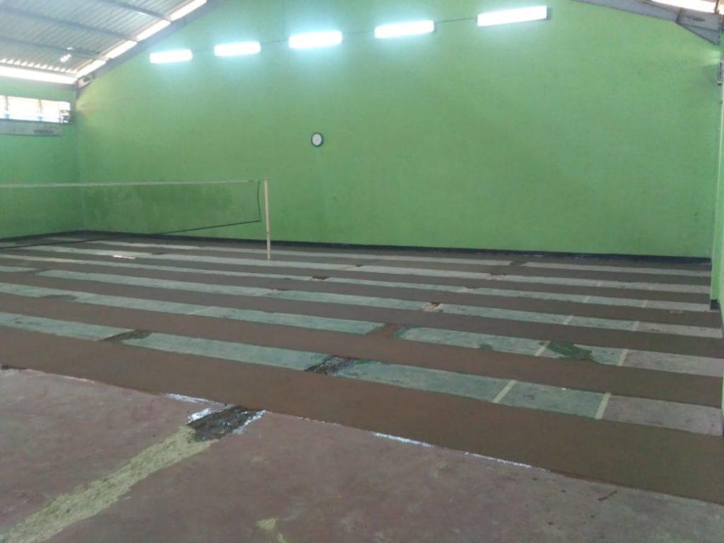 cara mengecat epoxy lantai lapangan